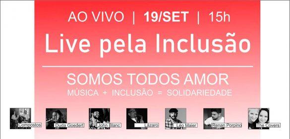 live pela inclusão