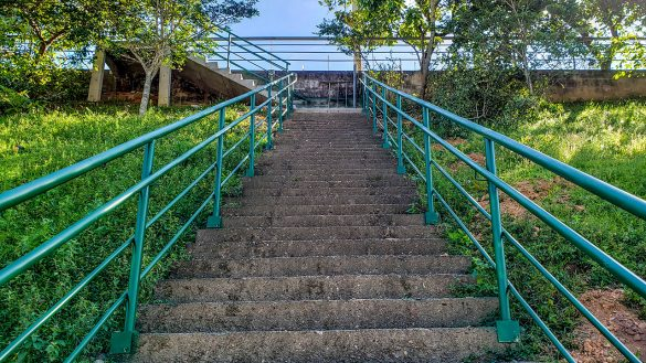 escadaria réguas