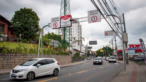 faixa reversível rua general osório