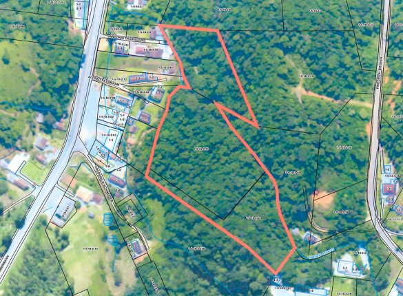 mapa parque vila itoupava