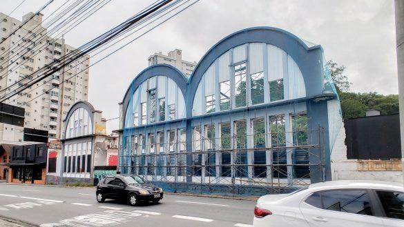 fachada antigo santa