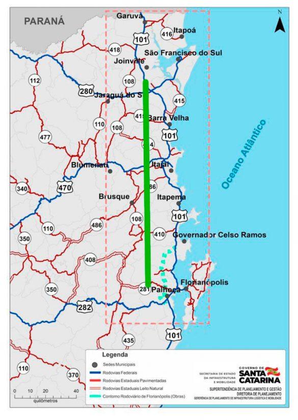 nova rodovia estadual